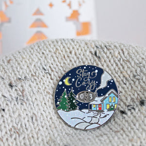 Limited Edition: Winter Row Counter Enamel Pin