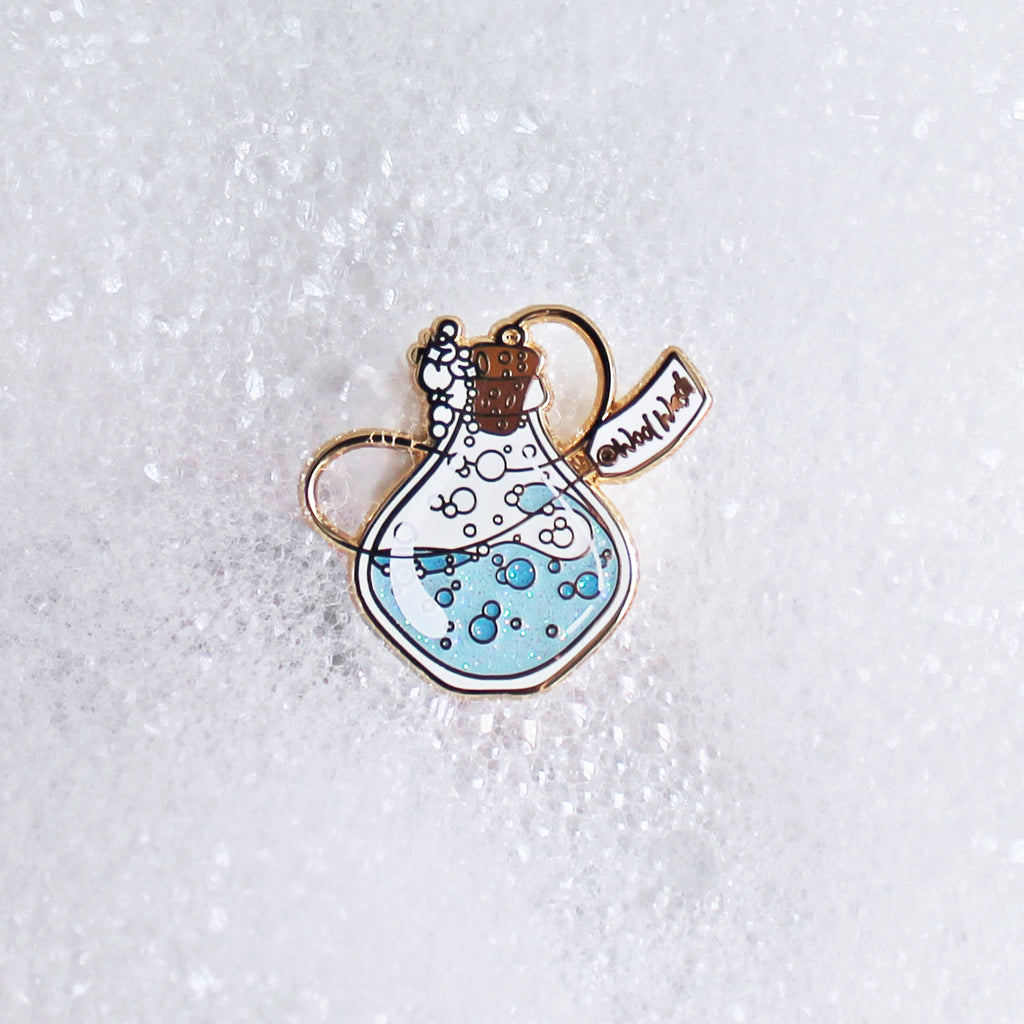 Wool Wash Enamel Pin