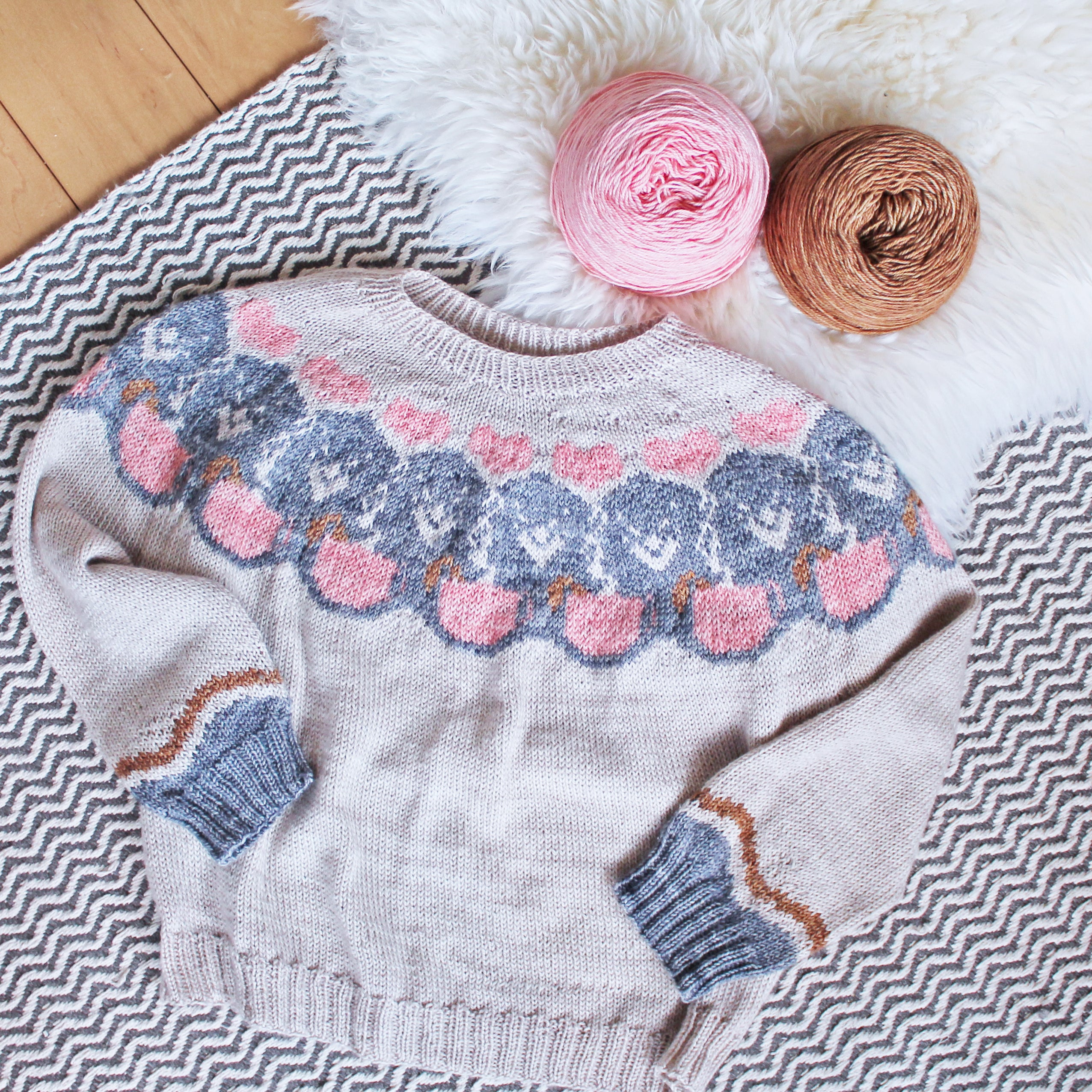 Morning Cup Sweater Pattern