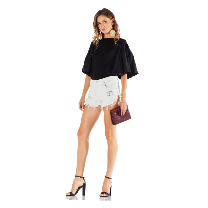 One Teaspoon Relaxed Fit Brandos Shorts