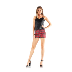 TRIPP NYC Plaid Mini Skirt
