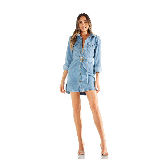 Montrôse Denim Mini Dress