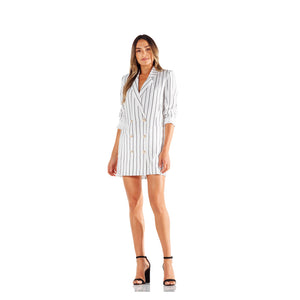 Montrôse Pin Stripe Blazer Dress