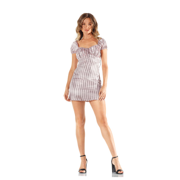 Lioness On The Line Mini Dress
