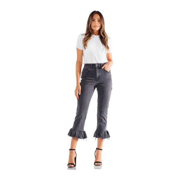 Ragged Priest Grazer Charcoal Jeans
