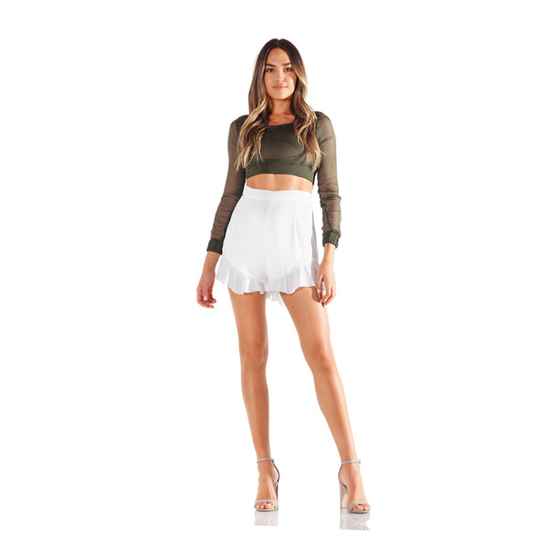 Montrôse White Cloud Shorts