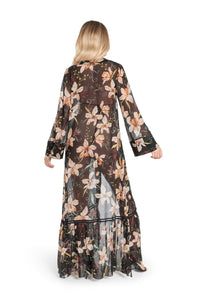 Sinesia Karol Hannah Silk Maxi Dress