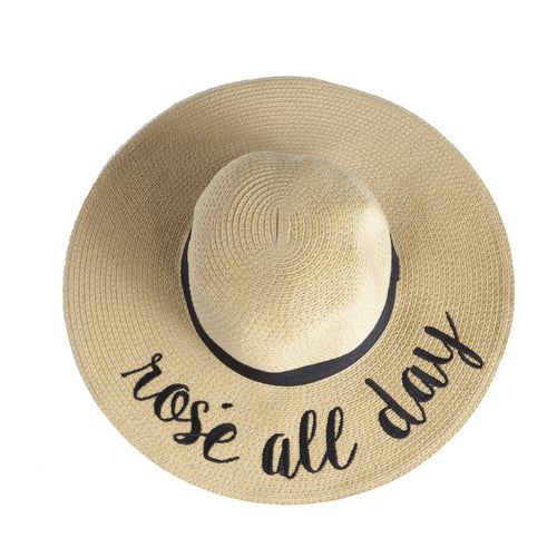 Montrôse Rose All Day Straw Hat