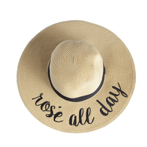 Montrose Rose All Day Straw Hat