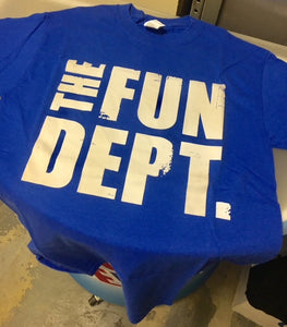 fun dept. throwback tee