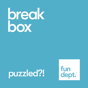 break box: puzzled?!