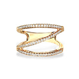 14k gold diamond fashion ring FR272
