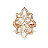 14k gold nouveau diamond fashion ring in  FR274