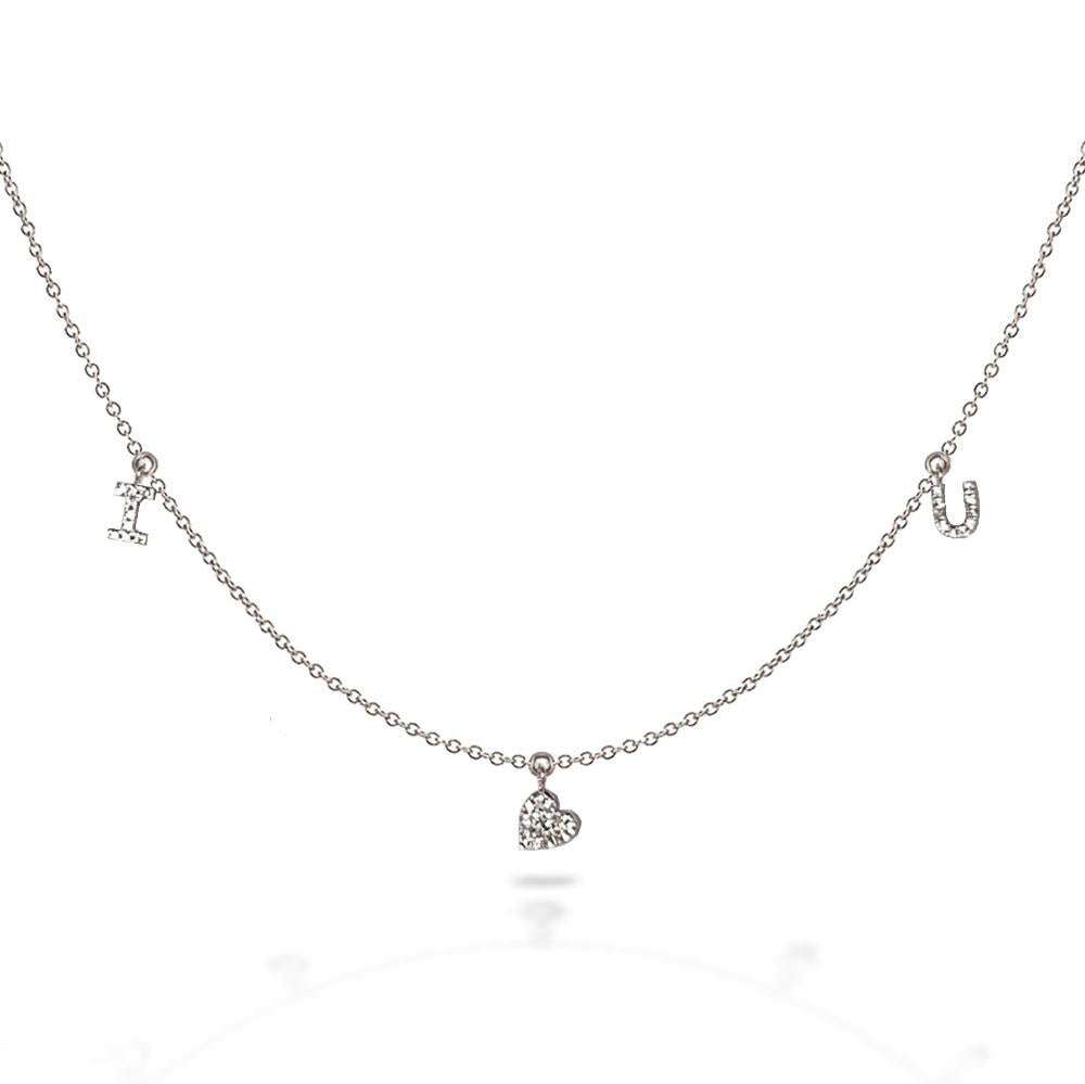 14k Love necklace MN44915