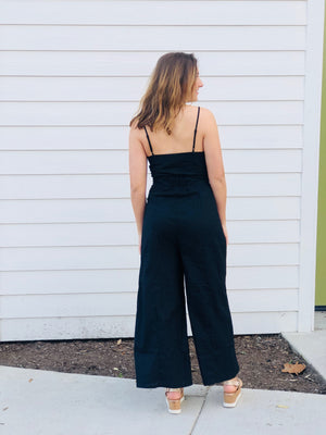 The Emory Jumpsuit - Black