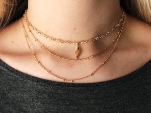 Macy Layered Choker Necklace