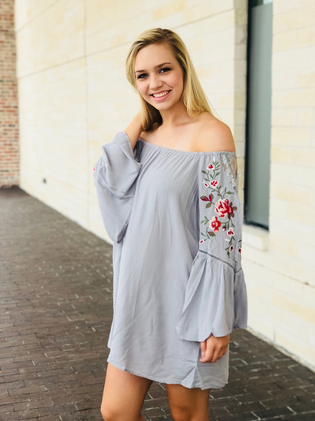 The Talia Embroidered Dress