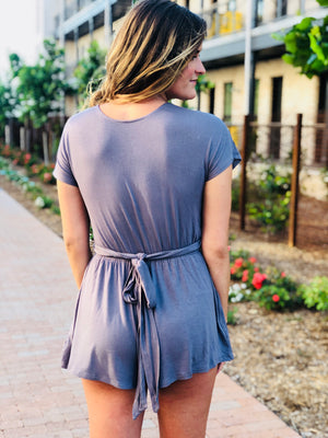 Infinite Blue Romper