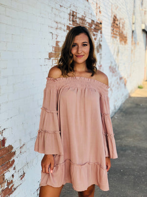 The Sutton Dress - Taupe