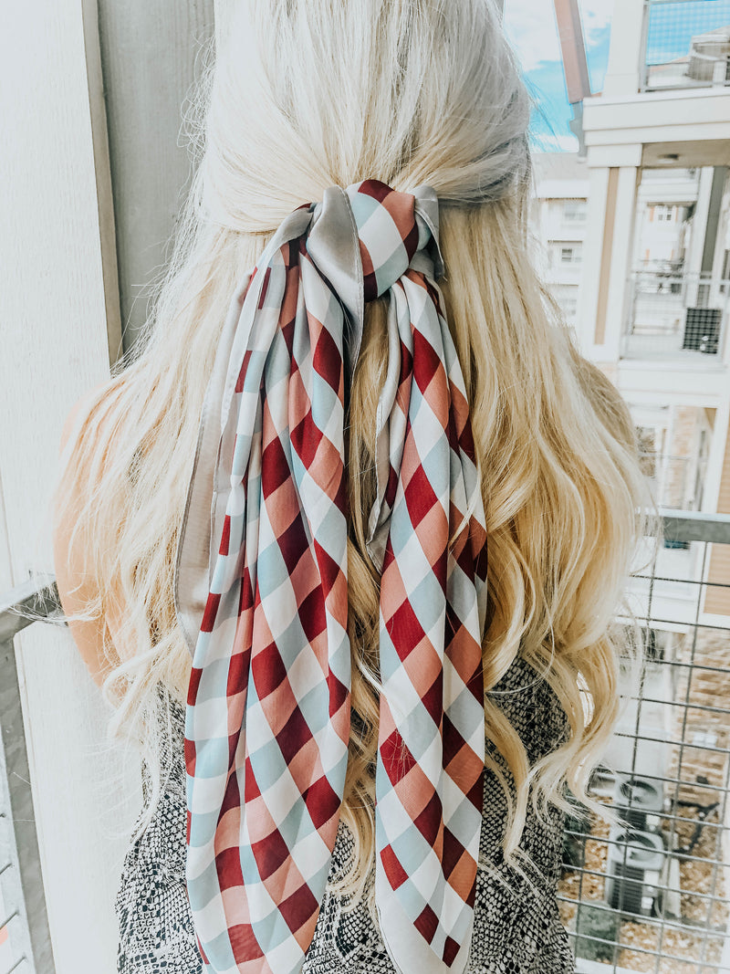Multi-Color Hair Scarf