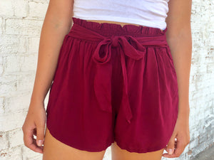 The Brooklyn Shorts - Burgundy