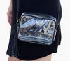 Clear Stadium Game Day Purse - Black Trim