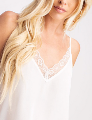 Ivory Lace Camisole
