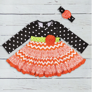 Chevron Halloween Dress