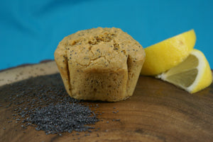 Lemon Poppy Muffin - Vegan