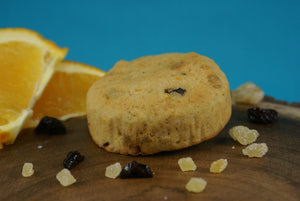 Orange Cranberry Ginger Scone - Vegan