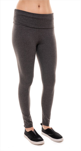 Leggings de maternité gris