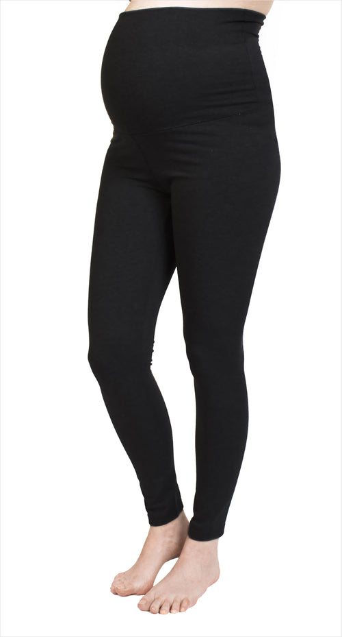 Leggings de maternité noir