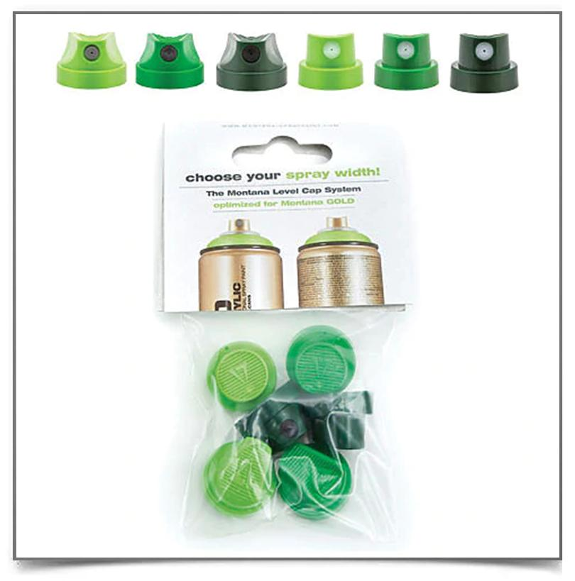 Spray Paint Caps