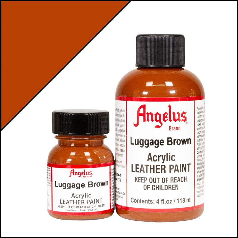 Luggage Brown Angelus Leather Paint