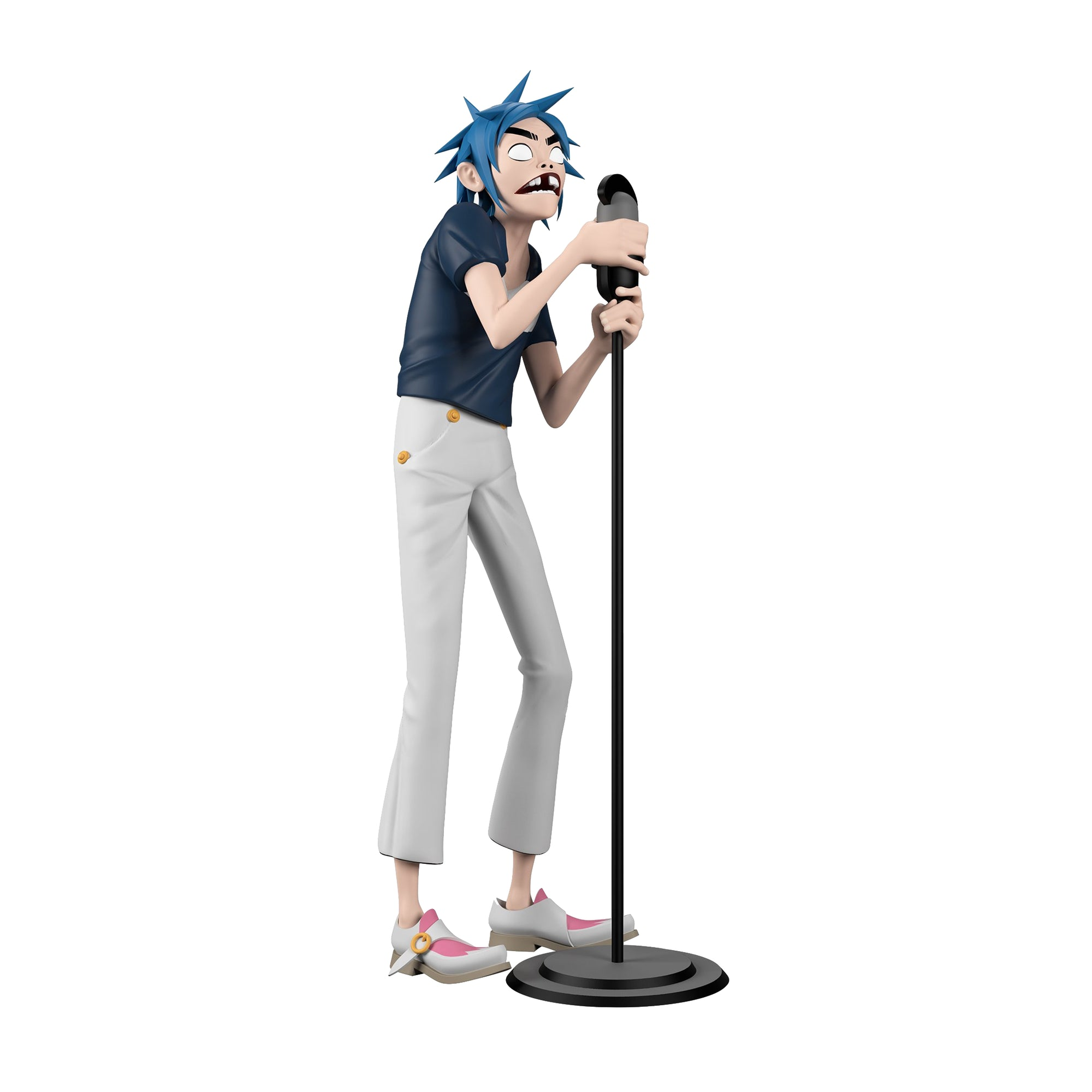 "SUPERPLASTIC X GORILLAZ 2D 12"" Designer Toy"