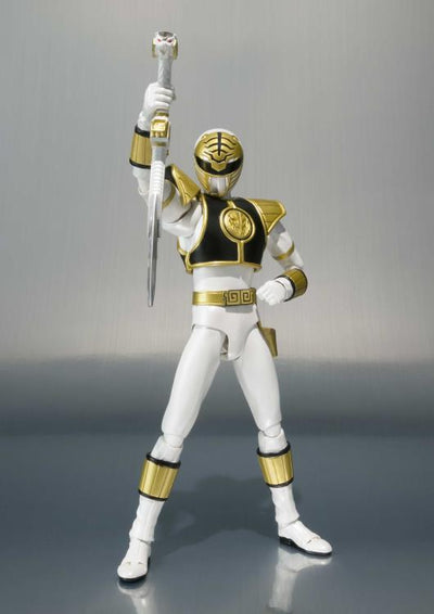 White Ranger (Tommy Head Sculpt) Mighty Morphin Power Rangers S.H. Figuarts by Bandai