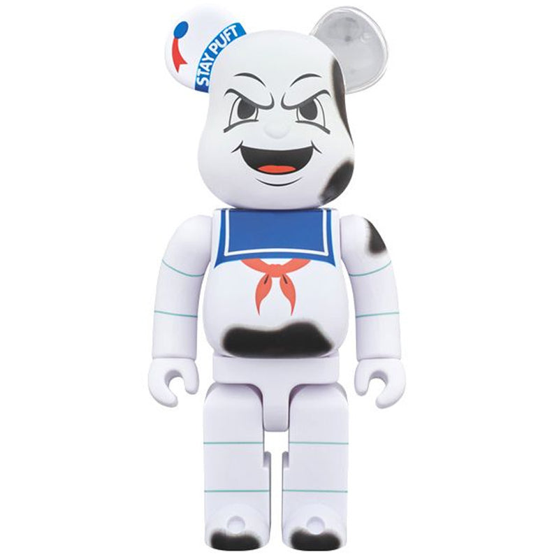 Stay Puft Burning Marshmallow Man Ghostbusters Angry Face 400% Bearbrick by Medicom Toy