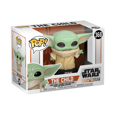The Child Baby Yoda Star Wars: Mandalorian  Bobblehead Pop