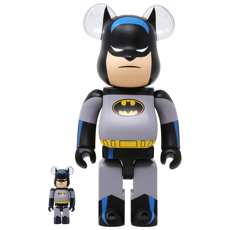 Batman The Animated Series 100% & 400% bearbrick set