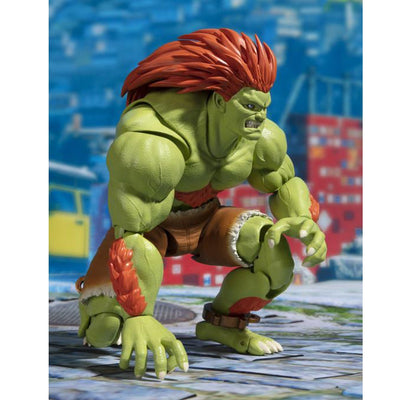 Blanka Street Fighter S.H. Figuarts by Bandai