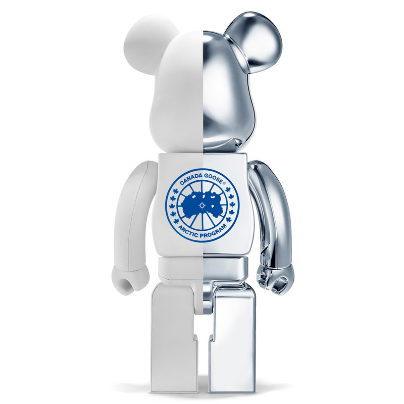 CANADA GOOSE POLAR BEARS INTERNATIONAL 1000% Bearbrick by Medicom Toy