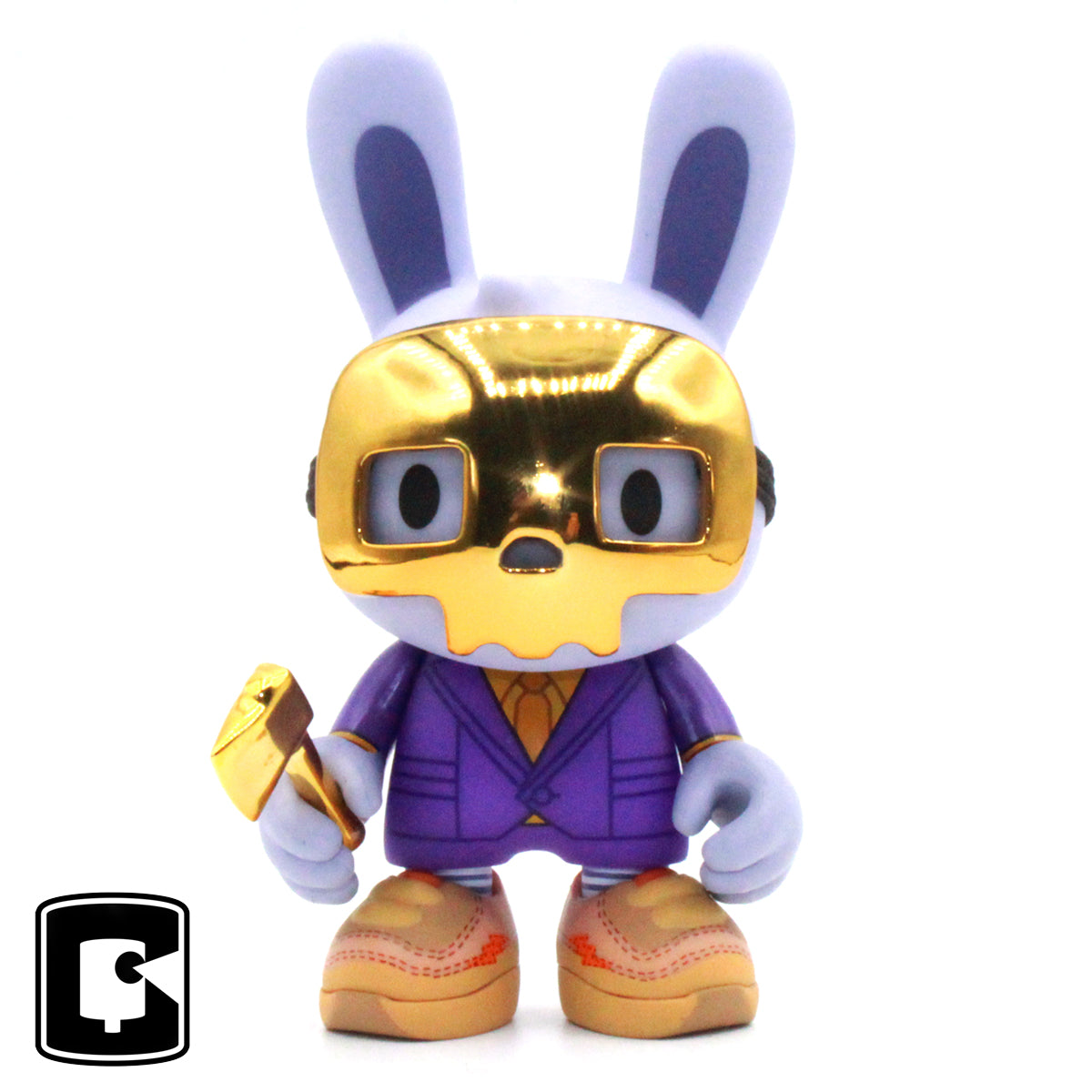 Golden Guggimon Janky by Guggimon X Superplastic