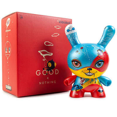 "GOOD 4 NOTHING 8"" DUNNY ART FIGURE BY 64 COLORS"