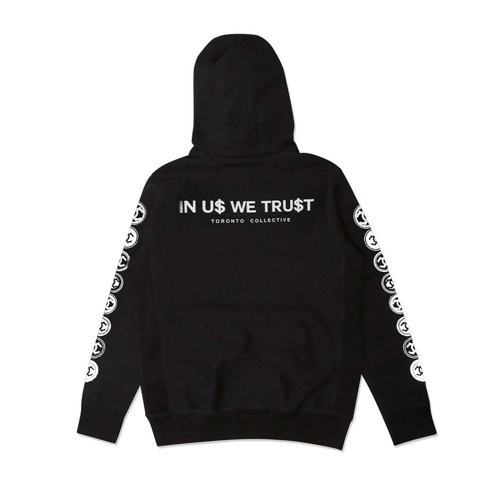IN U$ WE TRU$T COLLECTIVE HOODIE