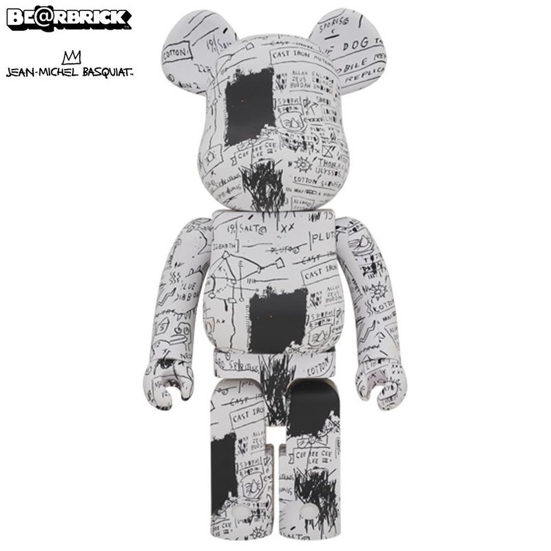Jean-Michel Basquiat #3 1000% Bearbrick by Medicom Toy