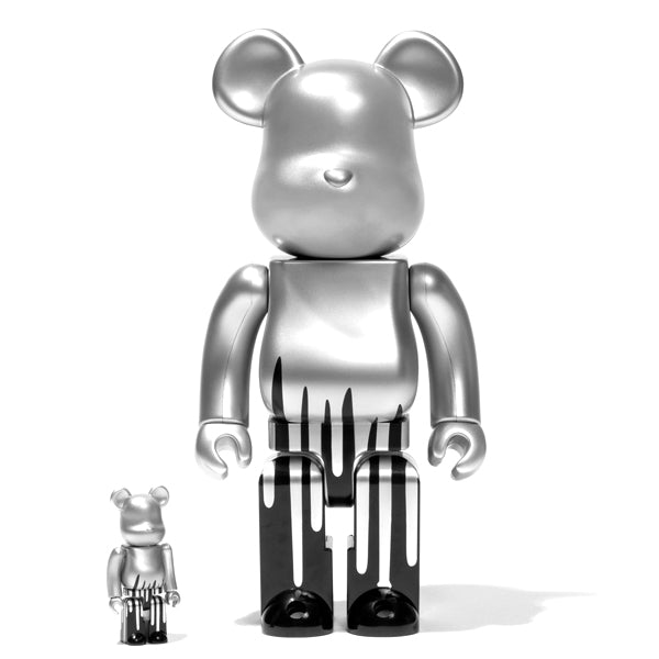 Krink 100% & 400% Bearbrick by Medicom Toy