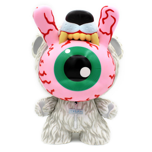 "Keep Watch - Polar White - 8"" Dunny by Mishka x Kidrobot"