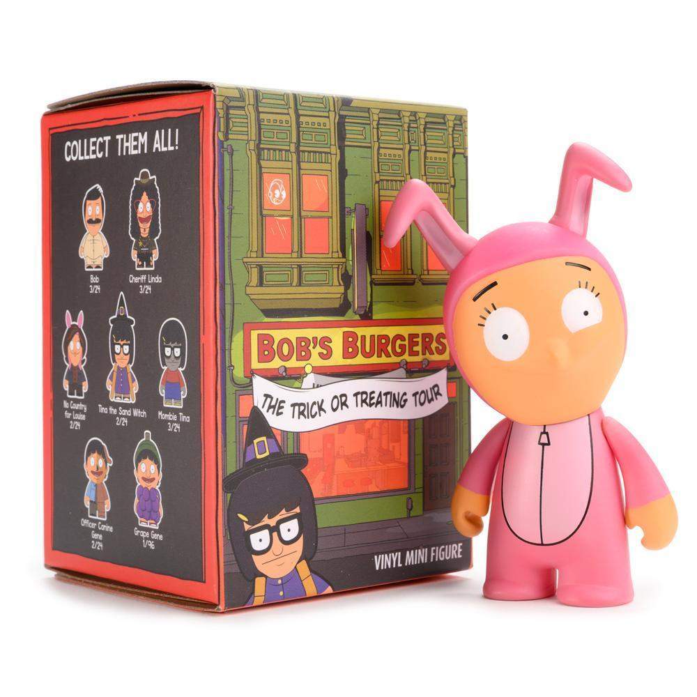 KIDROBOT X BOB'S BURGERS TRICK OR TREATING TOUR MINI SERIES