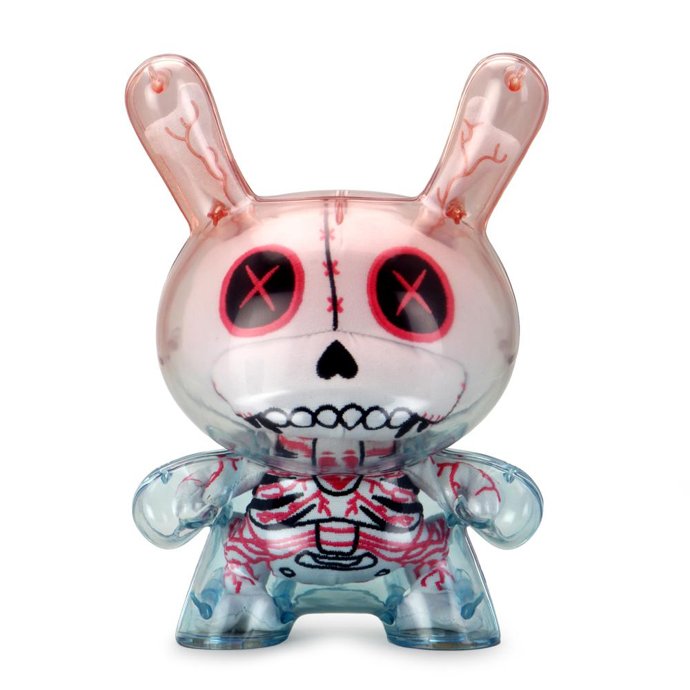 "GASHADOKURO 8"" PLUSH GUTS DUNNY ART FIGURE - WHITE EDITION by Kidrobot"