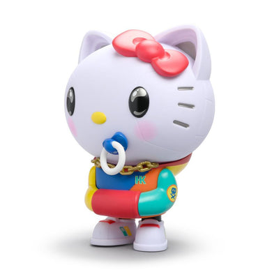 "HELLO KITTY 8"" ART FIGURE BY QUICCS x KIDROBOT - 80'S RETRO EDITION"
